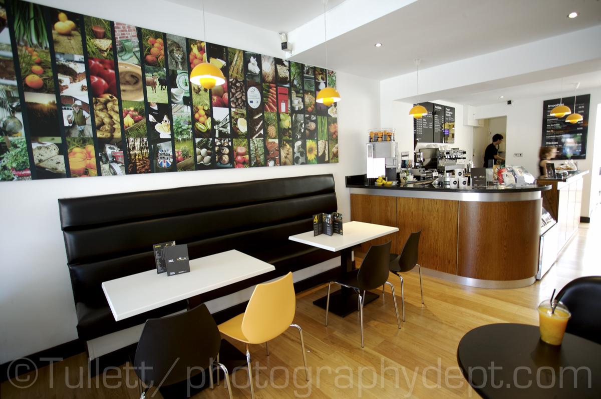 Rise Cafe Deli interior